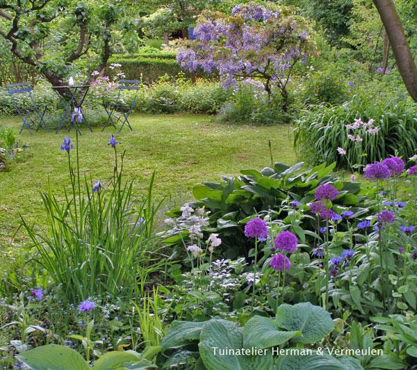 voorbeelden van tuinontwerpen