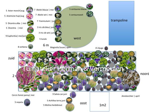 tuinontwerp laten maken beplantingsplan