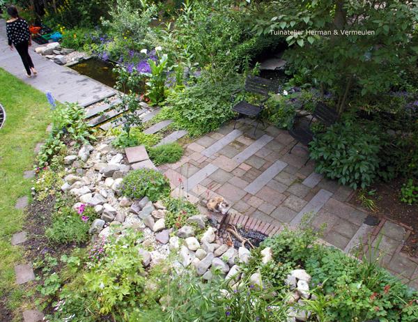 hergebruik materialen in de tuin